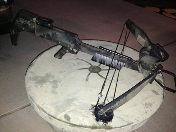 BEAR DEVASTATOR 150 CROSSBOW, REALLY NICE - $125 (NB)