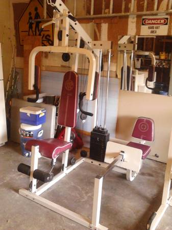 Exercise Machine Golds Gym Competitor Series - $180 (SW)
