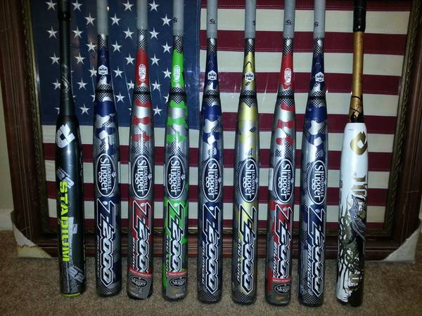 TPS Z2000 Softball ASA bats Miken Easton Worth (northeast sa)