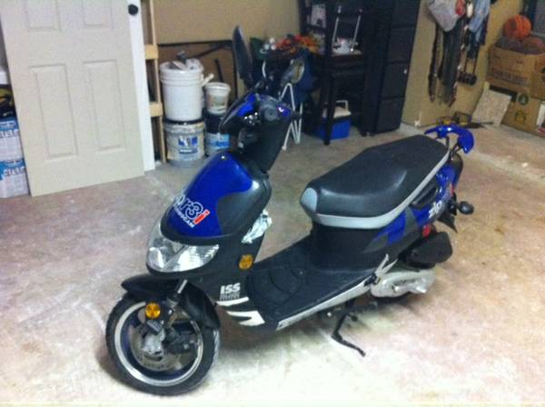2005 scooter 55 miles - $1250