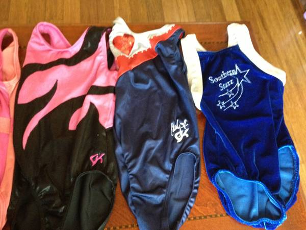 Gymnast XMAS GK Elite gymnastics Leotards - $10 (North Central San Antonio)