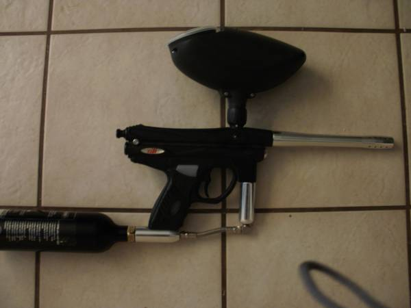 GTI Piranha Paintball Gun - $40 (NW San Antonio)