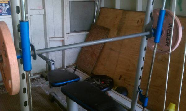 pro form xp 300 weight bench  - $100 (southside)