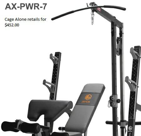 WEIGHT SETGYM APPEX OBO - $500 (NORTHEAST san antonio tx)