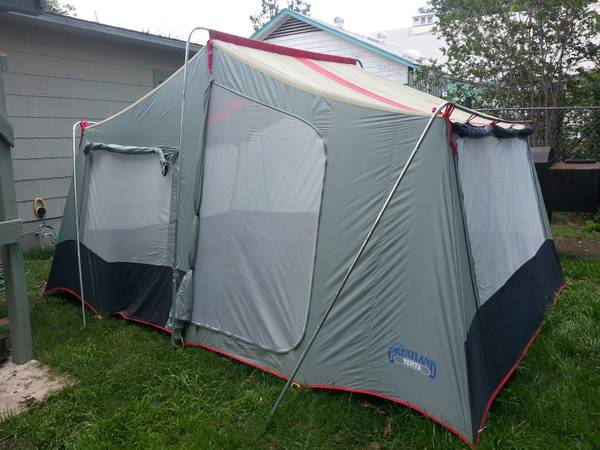 Large Greatland 2 Room Cabin Tent 9x13 - $75 (Broadway410) & Greatland tent | eSpotted