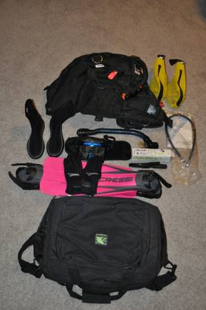 Diving Equipment - $275 (I-10 DeZavala)