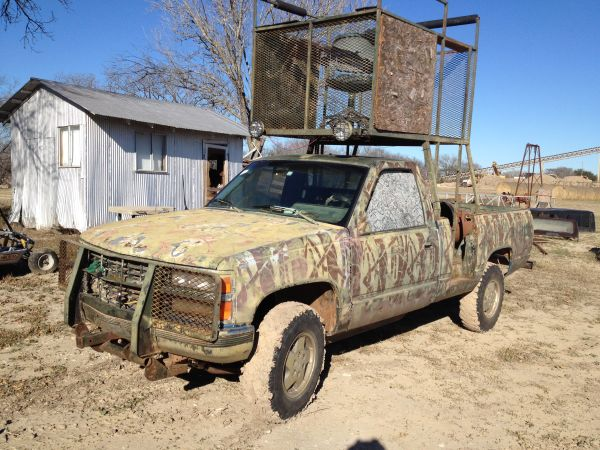 Hunting Truck with High Rack - $4750 (La Coste)