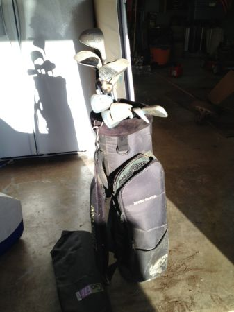 Great gift Ladys golf clubs - Pro Select - perfect starter set - $125 (NCBulverde)
