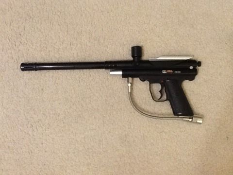 Piranha R6 paintball gun - $1 (Stone Oak)