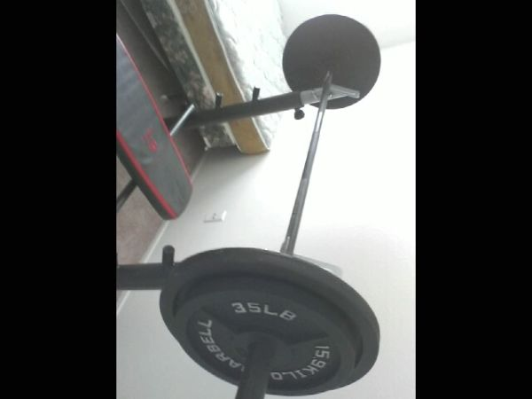Weightlifting Set - $325 (W Commerce)