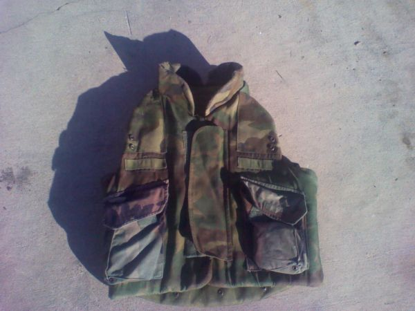 Woodland Flak vest (small) - $30 (lackland area)