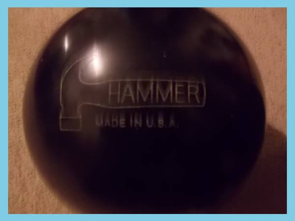 hammer no mercy bowling ball - $100 (converse)