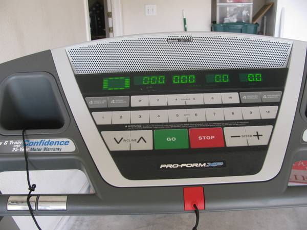 Pro-form XP Trainer 580 Treadmill - $350 (Converse, TX)