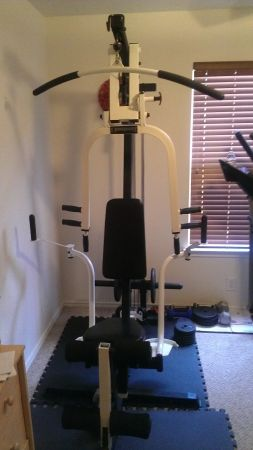 Impex Powerhouse Home Gym Weight Set - $200 (1604 Potranco)