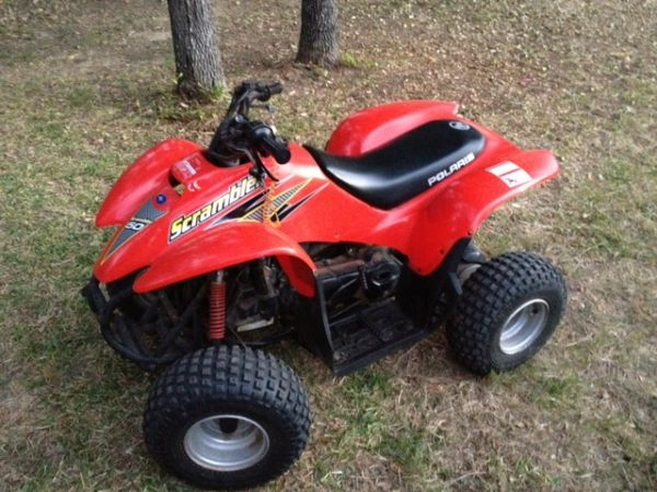 KIDS ATV - POLARIS SCRAMBLER - YOUTH 4 WHEELER - $995 (Sea World Area)