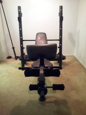 Marcy Diamond Elite Olympic Weight BenchLIKE NEW - $400 (NW SA)