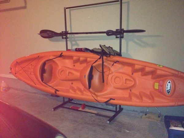 Pelican Apex 130t Kayak and Dual Stand Rack - $750 (San Antonio,TX and surrounding area)