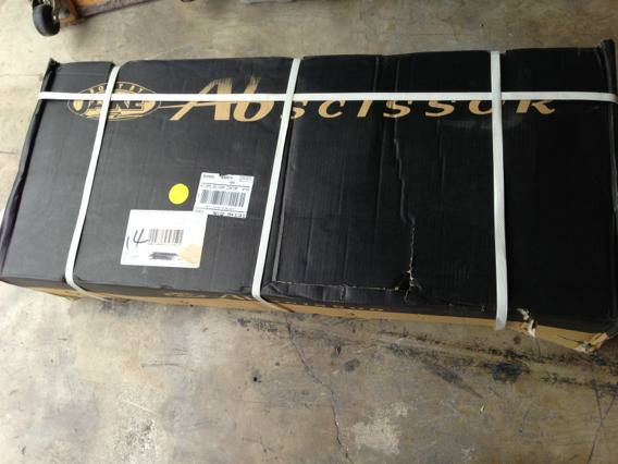 Ab Scissor exercise machine, Body by Jake, NEW in the box - $90 (San Antonio Airport area)