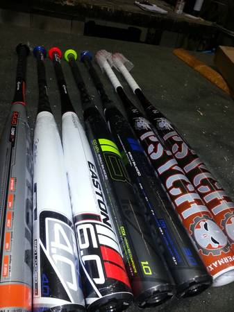 Softball Easton Miken Bats - $185 (San Antonio)