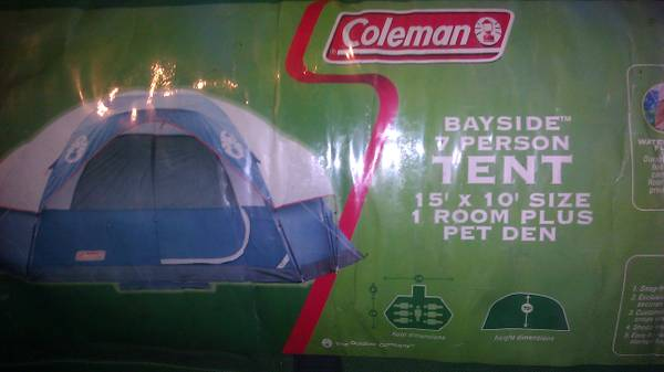 coleman bayside 7 person tent - $125 (546 scates dr)