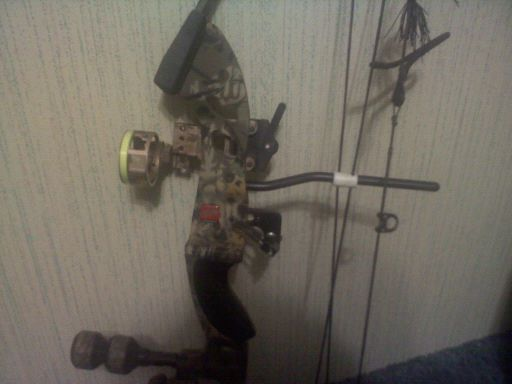 PSE Spyder youth compound bow - $125 (Blanco)