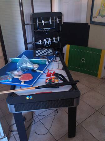 Foose Ball Table Pool Table and More - $125 (Downtown)