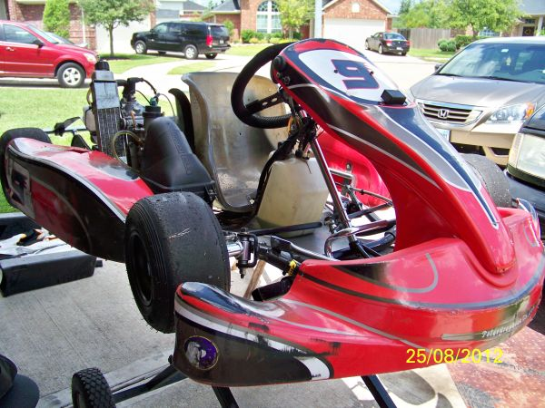 ROTAX MICROMAX RACING GO KART PRICE REDUCED - $3000 (KATY, TX)
