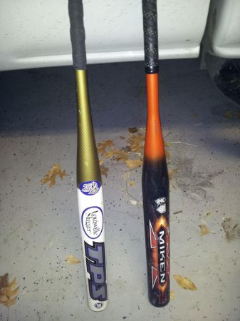 Softball bats Miken NRG Louisville TPS Voltage 2 - $250 (SE San Antonio)