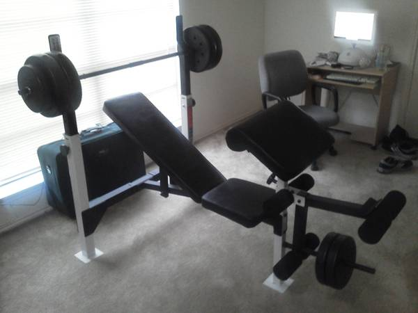 Weider pro 800 weight bench - $40