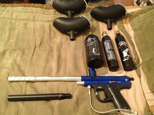 piranha r6 paintball gun - $100 (nw sa (seaworld))