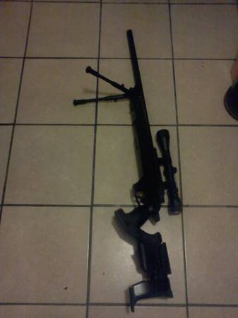 airsoft gas sniper - $150 (nw san antonio)