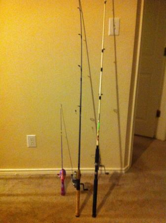 FISHING ROD AND REEL NET (VALLEY HI AREA)