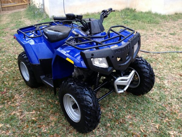 ATV  4 Wheeler - POLARIS SAWTOOTH 200cc Like New - $2600 (NW San Antonio)