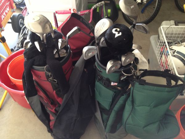 His and Hers Golf Clubs - $100 (Stone Oak)