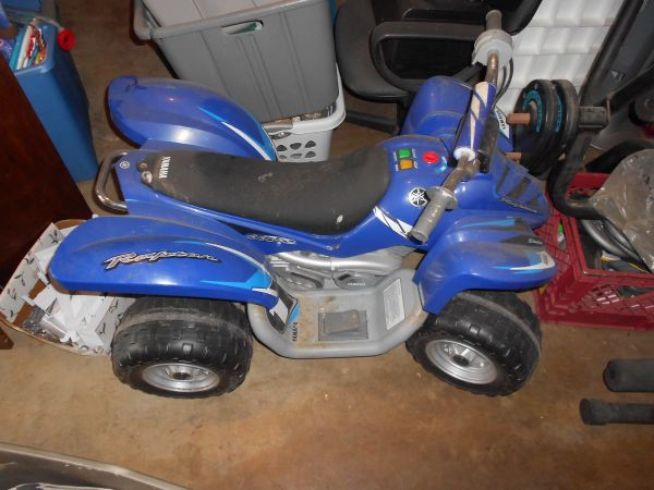 Yamaha Raptor ATV 12 Volt - $40 (NC close to Airport)