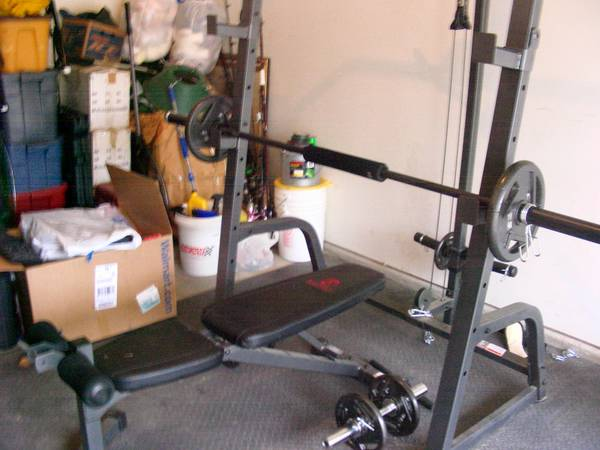 workoutexercise equipment - $500 (stored in garage)