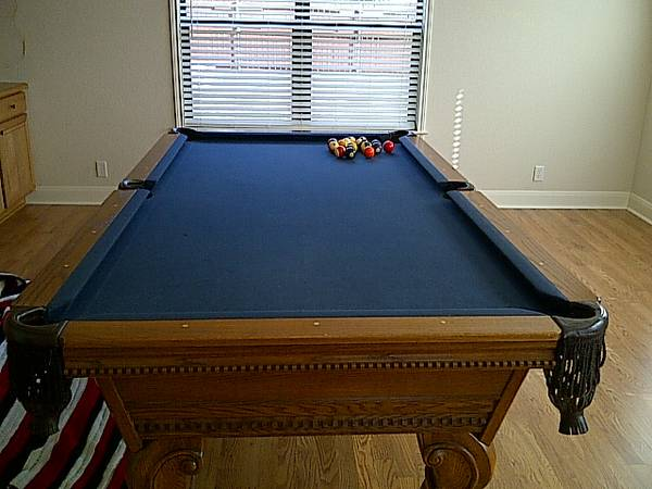 Custom Italian Slate Pool Table - $1600 (Canyon Lake)