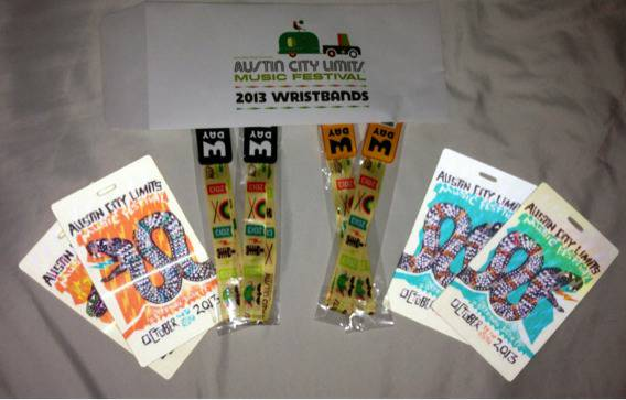 Pair of ACL Week 1 Oct 4-6 3 Day Pass w Collectible Credential - BELOW FACE - $200 (San Antonio)