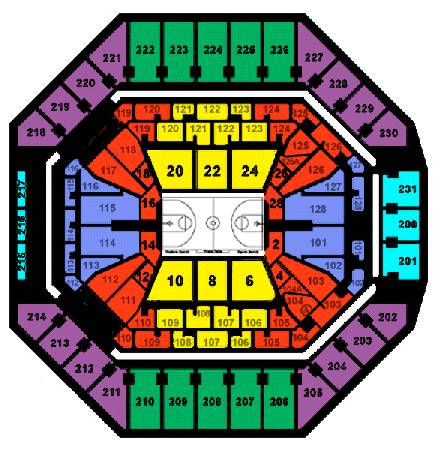 4 SPURS vs GOLDEN STATE WARRIORS TICKETS CENTER COURT CHEAP - $14 (ATT CENTER)