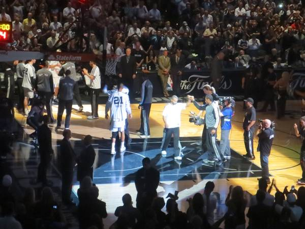 Spurs vs Cavaliers 2 Tix Park Pass This Saturday, November 23 - $150 (Section 124 Row 23 Seats 34)