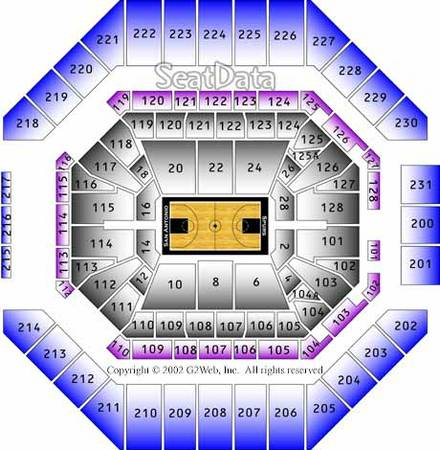 Spurs vs Heat - x002470 (214 and 100 level )