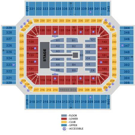 One Direction Alamodome 4 Tickets Section C5 Row 8 September 21 - $250 (Alamodome)