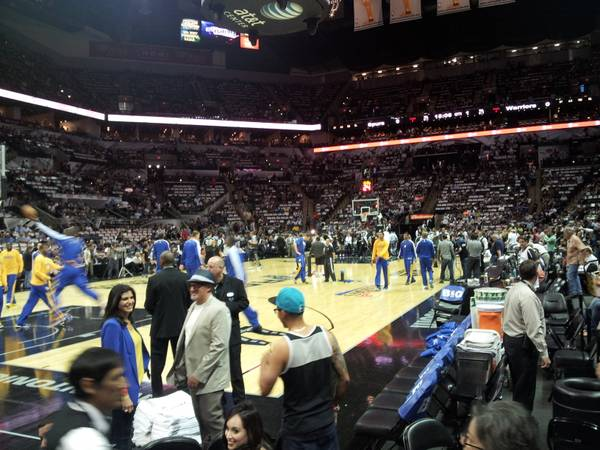 Spurs Heat Game 4 Lower Level Row 6 and Parking Pass - $1750 (Section 112 Row 6 Seats 1 and 2, Lot 4 )