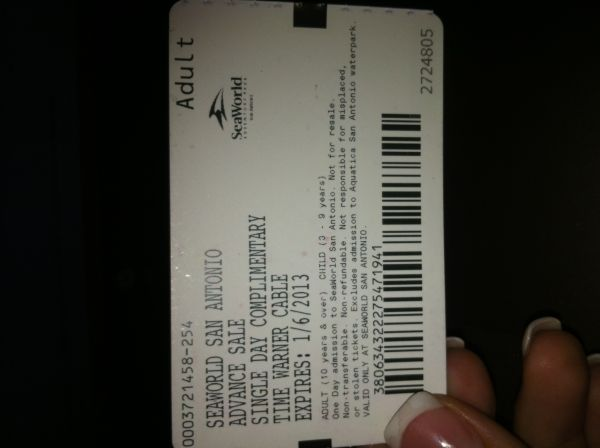 Seaworld tickets child or adult - $35 (281 n and bulverde )