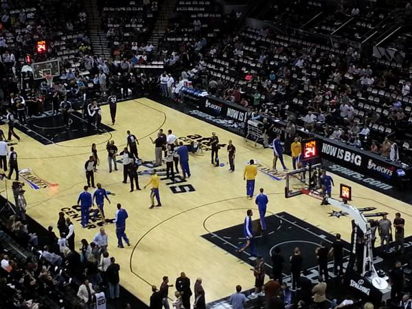 Spurs vs Heat Game 5 FINALS Sun 616 7PM(Parking pass included) - $350 (SATX Area)