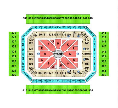 2-George Strait Lower Tickets Section 124 Row 14, Hard Tix Not Prints - $850 (SeaWorld Area)
