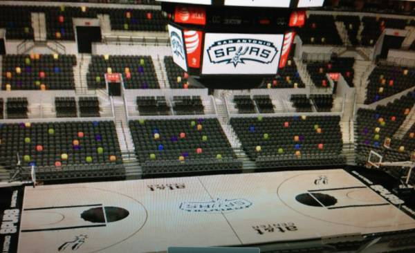 (8) SPURS VS WARRIORS GAME 5 TICKETS ROW 2 (SPURS FANS ONLY) - $80 (ROW 2)