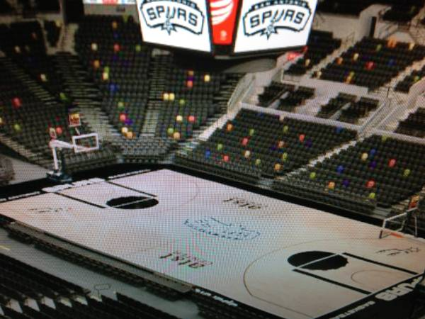 2 SPURS VS WARRIORS GAME 5 TICKETS GREAT SEATS FOR ROW 2 - $90 (SAN ANTONIO)
