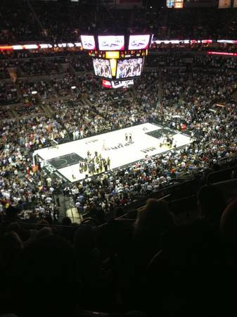 SPURS VS CLIPPERS Buy 2 get 1 FREE, plus parking pass - $160 (airport )