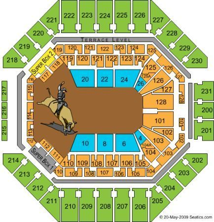 Dierks Bentley SA Rodeo 2 tickets - $50 (lower level)